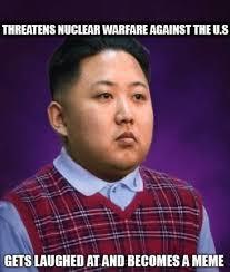 Kim Jong Un Snickers Meme - bad luck kim jong un owned com