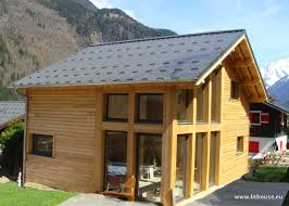Chalet Houses Building Eco Wooden House