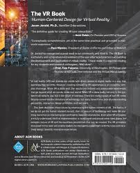 the vr book human centered design for virtual reality acm books