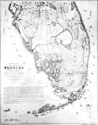 Map Of South Florida by File Us War Department Everglades Map 1856 Jpg Wikimedia Commons
