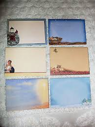 greeting cards by salesian missions lot of 6 with