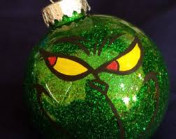 grinch ornament etsy