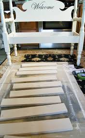 How To Build A Banquette Seating How To Build A Headboard Bench Confessions Of A Serial Do It