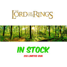 Forest Backdrop Lord Of The Rings Forest Backdrop Inserts For Classic Display Geek