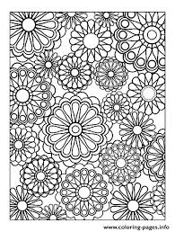 kid hard coloring pages flowers 62 drawings