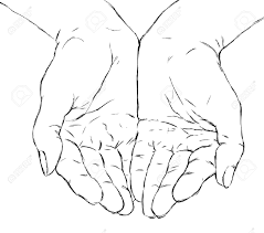 open praying drawing images i n k praying