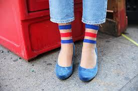 esther s picks she wore blue velvet shoes and cool ass socks