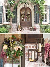5 tips for fall front door flower wreaths with pottery barn c