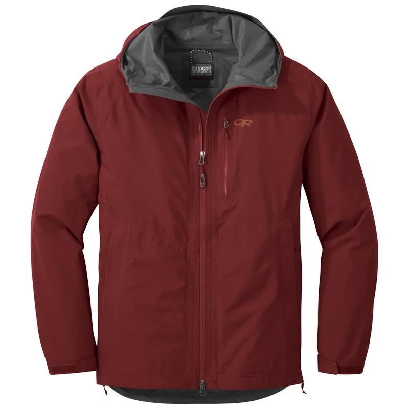 Outdoor Research Foray Jacket CLEARANCE-Small Firebrick