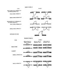 architecture floor plan symbols interiors and design architectural floor plan symbols pdf image
