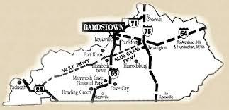 kentucky map bardstown bardstown parkview motel bardstown kentucky