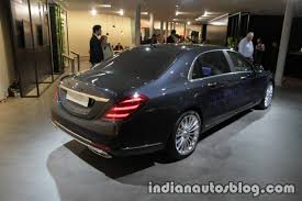 mercedes maybach s class fit u0026 healthy showcased at iaa 2017 live