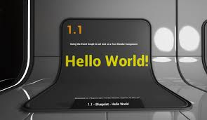 1 1 hello world unreal engine