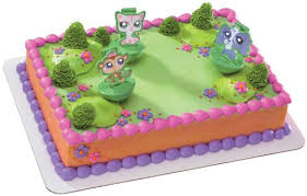 deco cake topper littlest pet shop cake topper 25 best cakes images on