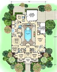 house plans with a pool cool house plans with pools pool in the middle of the house is