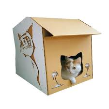 Cool Cat Furniture Cool Summer Cardboard Cat House U2013 Summer Nap In A Lazy Afternoon
