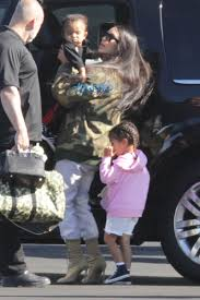 kim kourtney and kids kylie tyga and kris jenner head on