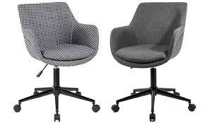fauteuil bureau tissu chaise de bureau skei en tissu groupon shopping