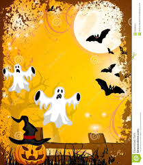 halloween background ghosts halloween poster stock image image 32908401