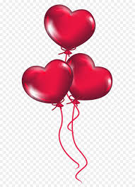 valentines ballons heart s day clip transparent heart balloons png