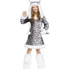 Genie Halloween Costumes Tweens Buy Kids Snow Leopard Costume