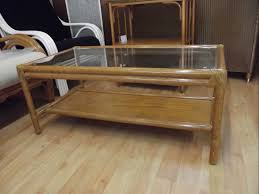 salon haut de gamme table basse rotin meubles rotin haut de gamme pour salon et véranda