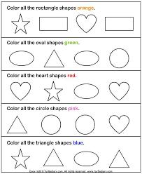 shape recognition worksheet kindergarten shapes worksheets shapes kindergarten worksheets