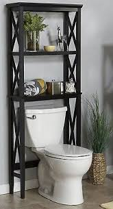 Leaning Bathroom Ladder Over Toilet by Organize The Space Under The Bathroom Sink Small Bathroom