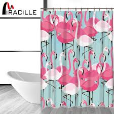 Pink Flamingo Bathroom Accessories by Online Get Cheap Pink Flamingo Shower Curtain Aliexpress Com