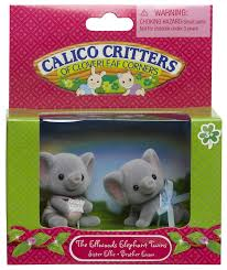 for my keirah calico critters ellwoods elephant twins the girls