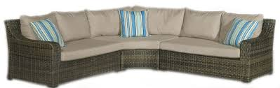 Patio Sectional 4 Piece Tortola Patio Sectional Rc Willey Furniture Store