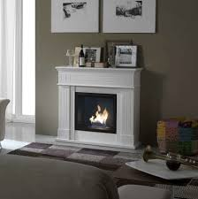 living room modern bioethanol fireplace free standing wall