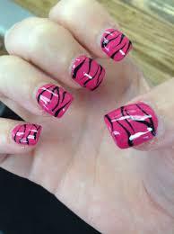 zebra print nail design nails pinterest zebra print nails