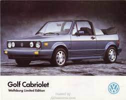 volkswagen fox 1989 1989 brochures