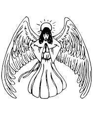 angel praying tattoo svg clip arts download download clip art