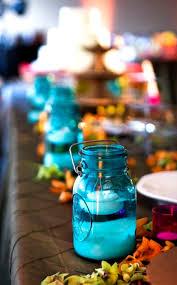 Ball Jar Centerpieces by 108 Best Aqua Ball Jars Images On Pinterest Flowers Blue Mason