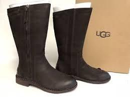 s ugg australia nubuck boots ugg australia elly stout brown nubuck boots 1017505 wool