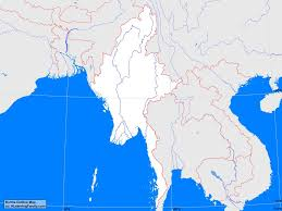 Thailand Blank Map by Burma Outline Map A Learning Family