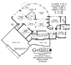 luxury cabin floor plans lakeview cottage house plan craftsman house plans
