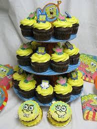 sponge bob cakes spongebob cupcake cakes for kids wedding