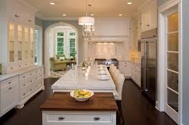 cuisine blanche avec ilot central 100 idées de cuisine avec îlot central contemporaine ou traditionnelle