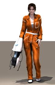 portal jumpsuit chell from portal 1 2 is there one available anywheres
