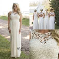 2017 cheap spring plus size country style bridesmaid dresses beige