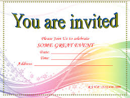 printable invitation templates printable blank invitation templates free invitation templates