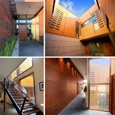 Home Design Modern Rustic Rustic Modern Earth Wood U0026 Steel High Desert Home
