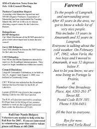 langruth news 2007