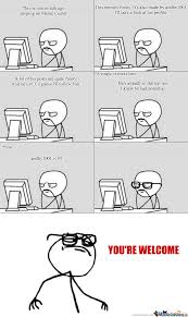 Comic Maker Meme - true story thanks for your funny and original rage comics keep
