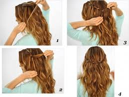 quick hairstyles for long hair at home quick hairstyles for long hair at home 17 quick and easy diy