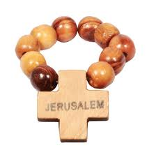 olive wood rosary olive wood finger rosary with cross christmas house