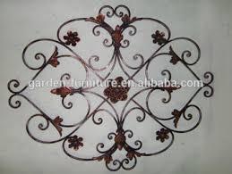 handicrafts wrought iron home wall decor ornamental metal